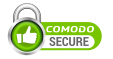 This site is secured by Comodo SSL